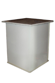 пластиковый контейнер с квадратным профилем РН-8000