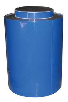 пластиковая бочка вертикальная РР-200