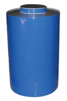 Вертикальный бак с крышкой 700 литров РР-700