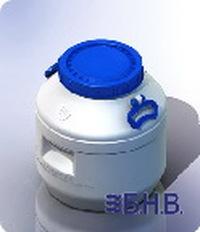 Фляга для молока пластиковая 40 литров Ф3-40П