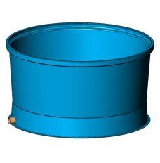 Емкость круглая для разведения рыбы 3900 л